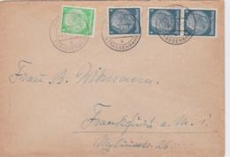 Third Reich Cover Posted Hamburg 1 Strassenbahn A 30.6.1941 - Cover Only (G44-22A) - Alemania