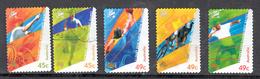 Austrlie 2000 Mi Nr  1936 - 1940 Para-Olympische Spelen Sydney, Rolstoel Tennis, Lopen, Rolstoelbasketbal, Tandemfietsen - 2000-09 Elizabeth II