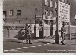 """Mur De Berlin FriedrichstraBe """"Checkpoint"""" - Berlin Wall"""
