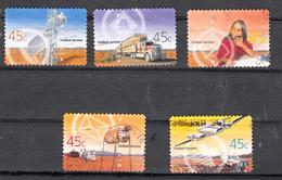 Austrlie 2001 Mi Nr  2049 - 2053 Infrastructuur In De Outback - 2000-09 Elizabeth II