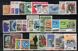 BIG - REPUBBLICA 1967 , L'annata Completa Di 31 Valori     ***  MNH - 6. 1946-.. Repubblica
