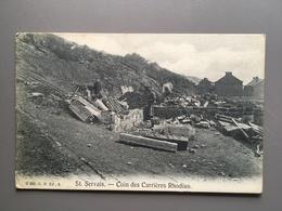 ST. SERVAIS - COIN DES CARRIERES RHODIUS - Bélgica