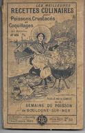 62 - BOULOGNE/ MER Semaine Du Poisson - Livres, BD, Revues