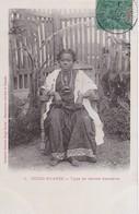 DIEGO SUAREZ / TYPE DE FEMME SAKALAVE  / MARCOPHILIE / BELLE OBLITERATION MAYOTTE - Madagascar