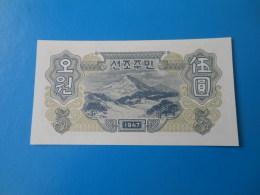 Corée Du Nord North Korea 5 Won 1947 P9 Ou 10b UNC - Corée Du Nord