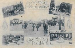 75)  PARIS  - Exposition Des Arts Décoratifs  - Souvenir De Paris - Mostre