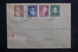 ALLEMAGNE - Enveloppe En Recommandé De  Rastatt Pour Seltz En 1952 , Affranchissement Plaisant - L 36484 - BRD
