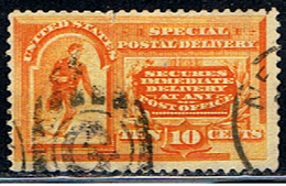 US 1037 // YVERT 5 (LETTRE EXPRES) // 1887-94 - Usados