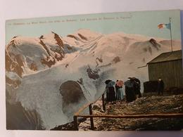CPA 74 CHAMONIX VUE PRISE DU BREVENT GLACOERS DE BOSSONS ET TAENNAZ - Chamonix-Mont-Blanc