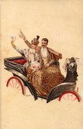H.G.R.  -  Attelage Historique  (Calèche) - Couple    (95261) - Autres Illustrateurs