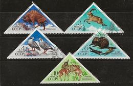 Russie 1973 N°Y.T. ; 3945 à 3949 Obl. - Gebruikt