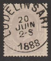 N° 36 Lodelinsart 1888 Concours - 1869-1883 Leopold II