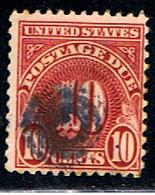 US 1044 // YVERT   49 (taxe) // 1930 - United States