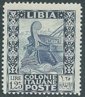 1931 LIBIA PITTORICA 1,25 LIRE MNH ** - RA7-5 - Libyen