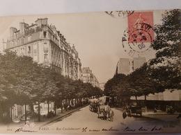CPA 75 PARIS RUE CAULAINCOURT ND PHOT 934 - District 18