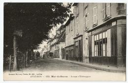 CPA [12] Aveyron > Mur De Barrez - Avenue D'Entraygues - Other Municipalities