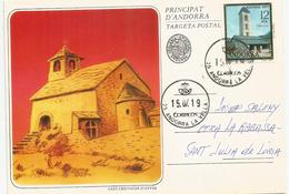 Eglise Romane Sant Cristofor D'Anyos, Années 1900's.  Andorra Le Vella - Lettres & Documents
