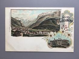 ENGELBERG - HOTEL SONNENBERG - LITHO KUNZLI - EDELWEISS - OW Obwald