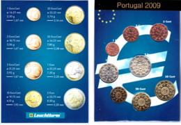 2009 - Portugal - 1 ,2,5,10,20,50,euro Cents,1€ Et 2€ - Neuf Dans Livret - Portugal