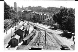 Cpsm Gare LEB De Lausanne- Chauderon (1930) - Collection G. Hadorn. - VD Vaud