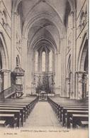 52. JOINVILLE. CPA. INTERIEUR DE L'EGLISE. ANNÉE 1918 + TEXTE - Joinville