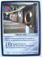 Star Trek CCG – Sites – Promenade Shops (uncommon) - Star Trek