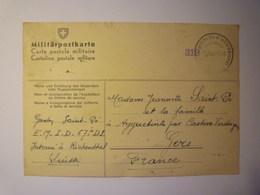 GP 2019 - 1882  MILITÄRPOSTKARTE  (Camp Militaire D'internement De RICHENTHAL Suisse)  1940   XXX - 1939-45