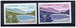 Andorre  :  Yv  162-63  * - Unused Stamps