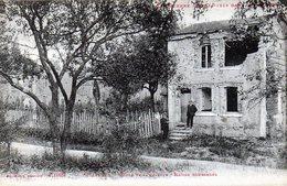 THIAVILLE  Route De La Chiffoie Maison Bombardée - Autres Communes