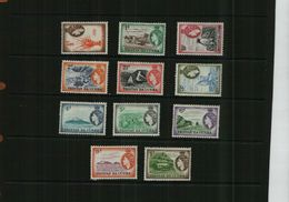 TRISTAN DA CUHNA - QEII - 1954  - MNH - 11 Stamps - Great Britain (former Colonies & Protectorates)