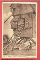 MONT DES CHATS MOULIN A VENT AOUT 1917 WIND MILL GUERRE 1914 1918 WWI CARTE EN TRES BON ETAT - France
