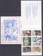 Sweden 1994 Cultural Relations France - Sweden Booklet ** Mnh (43834) - 1981-..