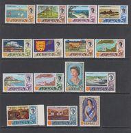 Jersey 1969 Definitives 15v ** Mnh (43835) - Jersey