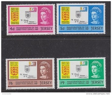 Jersey 1969 Inauguration Of The Jersey Post Office 4v  ** Mnh (43835A) - Jersey