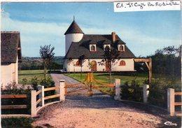 Cpm De St-Cyr-la-Rosière - Petit Manoir Contemporain Du Perche - - France