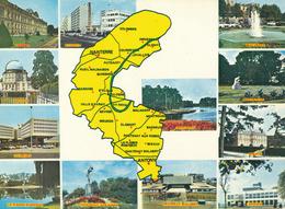 HAUTS DE SEINE (92) - Carte Géographique - Nanterre - Maps