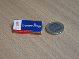 JEUX OLYMPIQUE ALBERVILLE 1992.   MEDIAS FRANCE INTER. - Jeux Olympiques