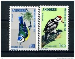 Andorre  :  Yv  232-33  **   Oiseau - Bird - Unused Stamps