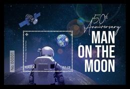 Malta 2019 Mih. 2066 (Bl.80) Space. Apollo 11. Moon Landing MNH ** - Malta