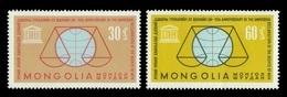 Mongolia 1963 Mih. 343/44 UN Human Rights Declaration MNH ** - Mongolie
