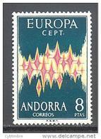 Andorre Espagnol YT 64A ** Europa 1972 MNH Côte 135 € - Neufs