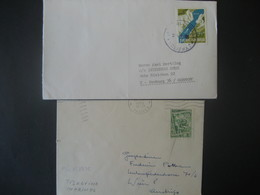 Jugoslawien- 2 Bedarfsbelege Aus 1965 Und 1953 - 1945-1992 Sozialistische Föderative Republik Jugoslawien