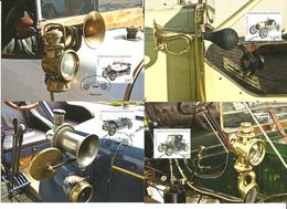 Liechtenstein 2012 Vintage Cars:  Brasier Racing Car, Stanley Steamer, Ford Model T Speedster (1915), Hinstin (1920) MK - Liechtenstein