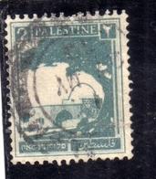 PALESTINE PALESTINA 1927 1942 RACHEL'S TOMB 2m USATO USED OBLITERE' - Palestina