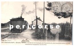 17  Arvert  La Gare Arrivée Du Train De Saujon De 5 Heures Du Soir - France