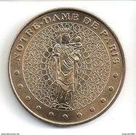 Monnaie De Paris 75.Paris - Notre Dame De Paris Vierge à L'enfant 2002 - Monnaie De Paris