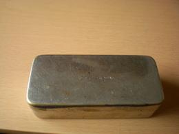 Old Tin Box Pharmacy Record Bruneau - Medical & Dental Equipment