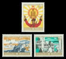 Mongolia 1976 Mih. 1005/07 Mongolian Revolution Of 1921 MNH ** - Mongolie