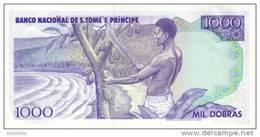 SAO TOME E PRINCIPE P. 62 1000 D 1989 UNC - Sao Tomé Et Principe