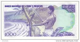 SAO TOME E PRINCIPE P. 62 1000 D 1989 UNC - San Tomé E Principe
